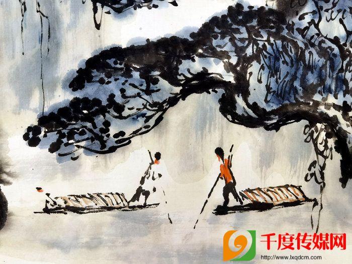 知名书画艺术家关永起、刘敬周二位先生唐山献墨宝