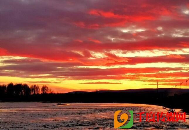 看根河的日出日落 赏身边最美的风景