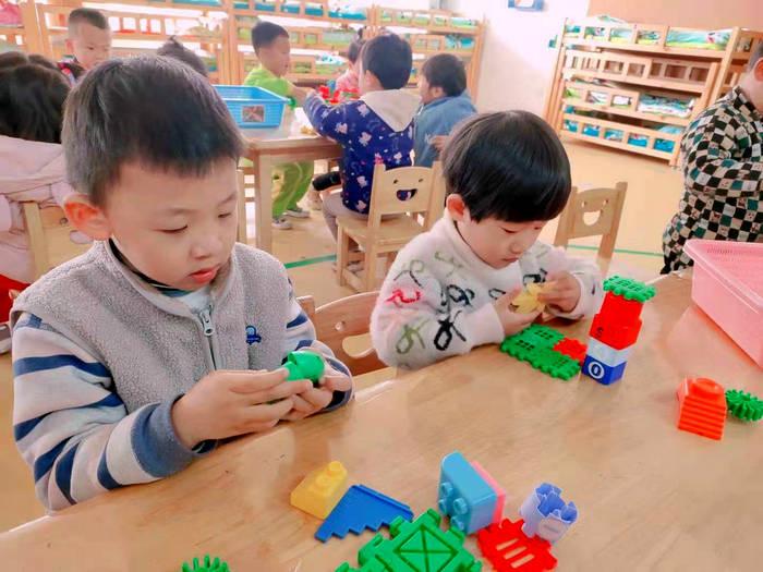 宁阳县文庙幼儿园小二班快乐的孩子们