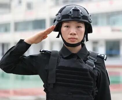 李文静:亳州市公安局特警支队反恐防暴突击大队四级警长